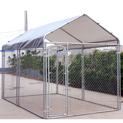 Rhino Shelter Dog Kennel With Canopy 7.5x13x6